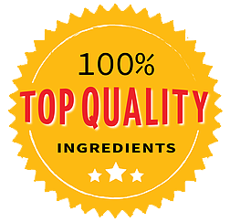 100% Top Quality Ingredients